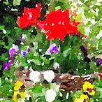 Water colours / These water colours are created from photos I've taken. Cool, huh?