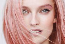 Inspirasjon til shoot / Fokus på hår, hud, ansikt og personlighet i uttrykkene.