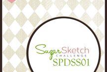 SPD SugarSketches / SugarPea Designs Card Sketches