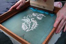 Screen and lino printing
