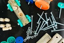 Loose Parts Play For Early Years Children / Activities and areas set up using loose parts