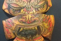 Dessins / Dessins sur le thème du tatouag