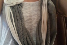DIY Beautiful T-shirt Scarves / by Melissa Perez
