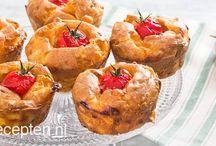 Hartige cupcakes