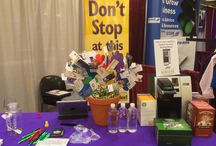 Trade shows  / Here are some photos from trade shows that we've been in!