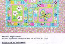 cute patchwork & applique quilts