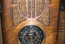 Vintage radios&music players