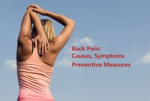 Back Pain : Causes, Symptoms and Preventive Measures / Back pain is one of the most common health conditions in the world. Nearly one fourth of every American is suffering from lower back pain. Individuals from age group of 25 to 60 are more likely to experience this kind of pain. Almost every person experiences lower back pain at some point in their lives.