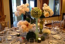 9.15.13- Boca Grove Country Club /  Chiavari Chairs, Linens, Chair Decor (Dixie Chic w/Margarita Flower), Napkins by: Eventiste Fine Linens & Event Rentals  Floral Arrangements by: Mrs. Fields (MOB ♥)  Catering by: Boca Grove Country Club