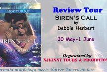 Review Tour: Siren's Call by Debbie Herbert (30 May -1 June)
