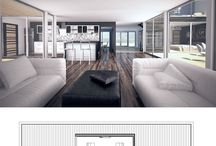 Home Architecture / Ideas for a modern, creative and yet classic home architecture.