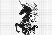 horses and unicorns