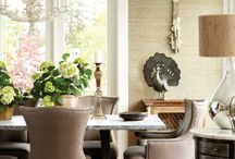 Dining Room/Living Room Inspiration for my Re-Do / by Balancing Beauty and Bedlam