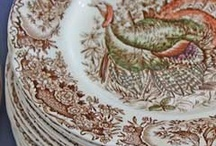 Dish It Out / Timeless Transferware / by Michelle Roome-Smith