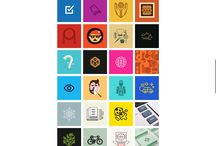 Design – Icons / Icons, symbols and vector graphics