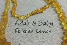 Baltic Amber Sets for baby plus mom or dad