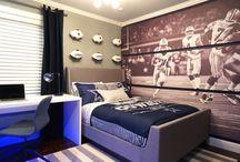 Dallas cowboys bedroom / Dallas Cowboys bedroom ideas, teen bedroom, football bedroom