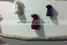 Cappellini decori natale