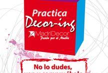 PRACTICA DECORING | MADRIDECOR / Abre la caja y descubre todos los planes que os hemos preparado para el 2015