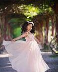 Elegant Girls Dresses Gowns / Custom Made Girls and Baby Girl Elegant Dresses-Gowns for Special Events.