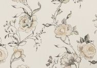 Clarke & Clarke Clarisse Fabrics / Clarisse is a chic range of printed linen fabrics in a soft, faded colour palette.