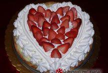 Γλυκά με φράουλες