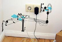 Disfarçando fios