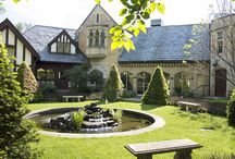 Elements of a Tudor Style / http://www.mstoneandtile.com/architectural-stone/elements-of-tudor-style/