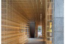 Wall, Corridor / design