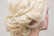 Wedding Hair / Wedding hair styles. Curated by Vanessa Krombeen of TheCheekyBeen Blog