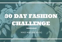 30 day challenge! Mad magpie blog