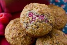 Wheat bran muffins