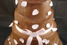 Chocolate Wedding Cakes / Some of our wedding cakes...