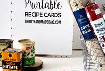 PRINTABLES / Free printables that will make your life easier