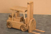 Wood toys ... vehicles