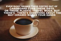 Coffee Cups In Trees / Walking through our woods as a kid, I would repeatedly stumble upon a coffee cup hanging from a tree limb left by my dad. Coffee cups in trees became a quirk of my childhood and caffeine became my addiction. / by Elisabeth Simmons
