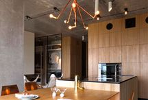 Mixed Metals / Mix different metals in your interior design for a glamorous, sophisticated look!