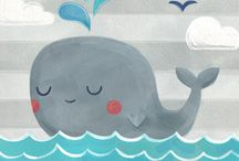 whale illustration kidsvel