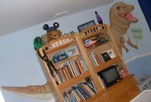 Dinosaurs / Dinosaur Home Decor, dinosaur clothing, dinosaur gift ideas.