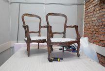 Upholstery / Мебель как искусство. Обивка мягкой мебели ткань, натуральная кожа