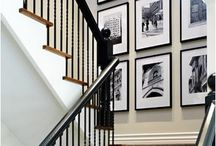 Foyer and stair wall