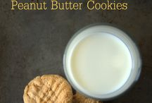 Baking biscuits / Peanut butter cookies