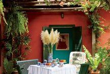 gardens, tarraces
