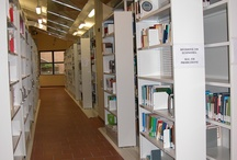 tecnoslide / tecnoslide is composed of horizontal sliding modules on one or both faces of the fixed shelving, thus doubling or tripling the capacity to hold books, binders, folders and documentation of any type