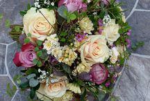 Wedding flowers made by Kalevan Kukkatalo
