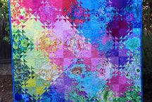 Quilts - Shimmering Triangles Jenny Bowker