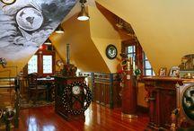 Steampunk style / steampunk style , steampunk jewelry, decoration, furniture design