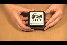Distress ink enz.