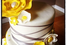 Wedding Color themes / Yellow and Grey, Yellow and Silver. Beautiful combinations of wedding, fashion and decor in these colors. Purple, Green, Blue, I'll keep adding