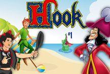 Hook / Hook é um jogo de arcade do genero beat 'em up, desenvolvido e produzido pela companhia Japonesa Irem. O objectivo do jogo é Peter Pan salvar as crianças do maléfico Captain Hook.